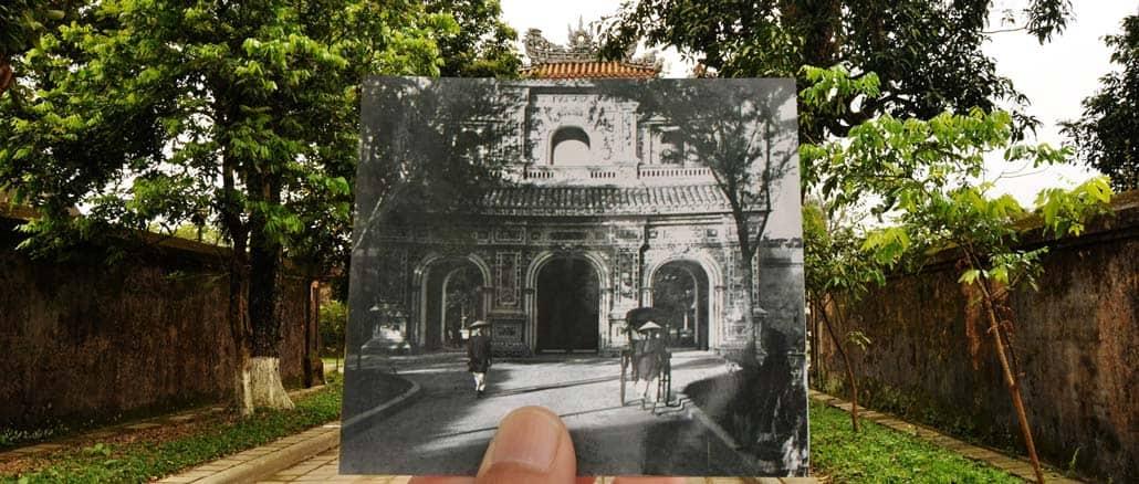 Annam, porte de Hien Nhon
