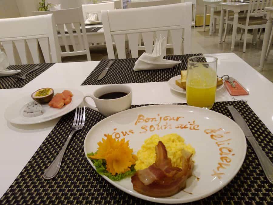le diner à Hanoi