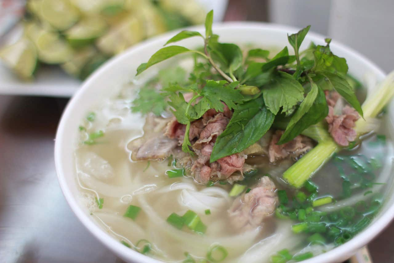la soupe au Vietnam