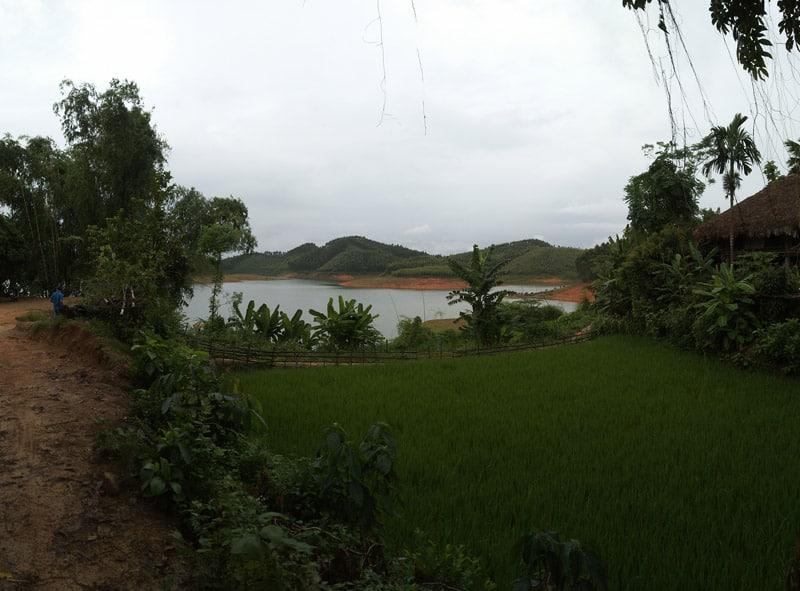 le lac de Thac Ba