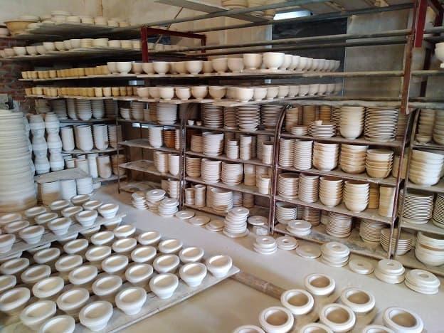 Séchage-céramique-Bat-Trang