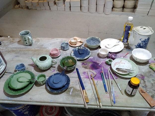 Peinture-céramique-Bat-Trang